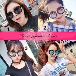 Korea popular shades