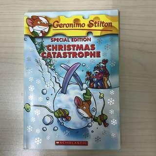 Geronimo Stilton special edition Christmas catastrophe
