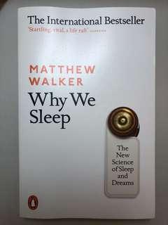 Why We Sleep ~ Matthew Walker