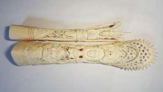 象牙雕刻品 Ivory Carvings
