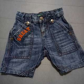United colour of Benetton boy jeans short