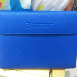 🎇[速銷價] 100%全新Mazda藍色皮袋