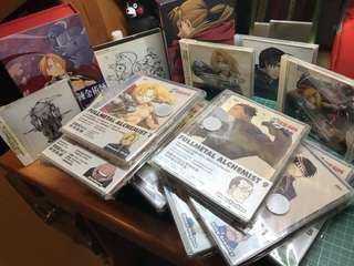 鋼之年金術士 收藏版dvd 一套連絕版CD