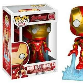 Funko Pop Avengers Age Of Ultron Iron Man Mark 43