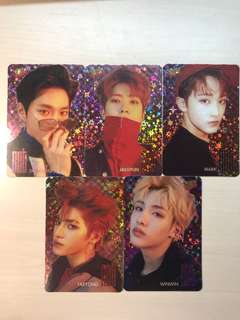 #34 Yescard NCT 閃卡 (共5張)