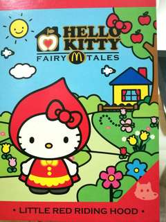 🆕Hello kitty collectible from McDonalds - red riding hood #20under