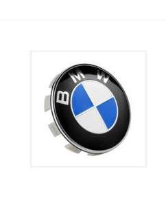 BMW 68MM wheel logo