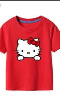Hello kitty print T-shirt