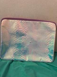 H&M pink laptop bag