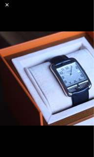 Hermes Cape Cod Watch New with bag and box