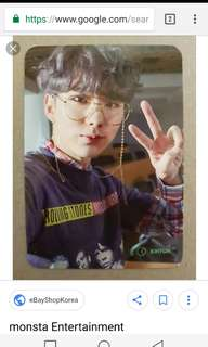 [WTB] ALL MONSTA X KIHYUN THE CONNECT PHOTOCARD