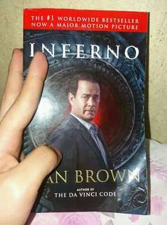 Preloved books Inferno by Dan Brown