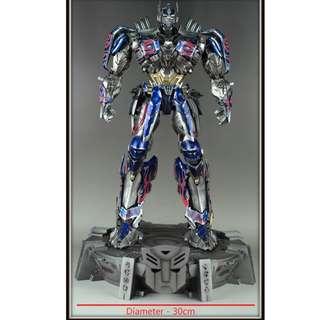 Transformers Display Base Stand (Autobot / Decepticon) - Diameter 30cm (Comicave Optimus Prime for scale)