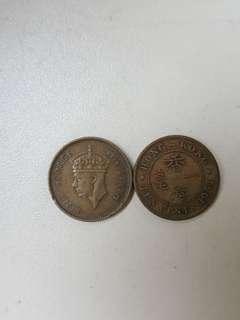 男(1950)香港錢幣
