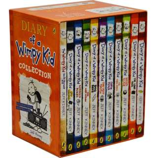 Diary of a Wimpy Kid Collection 1 - 10 Books + Do-It-Yourself Book Set ( Brand New )