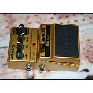 DIGITECH Tone Driver Overdrive Effect Pedal