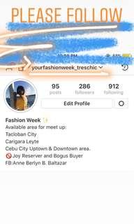 Follow in Instagram