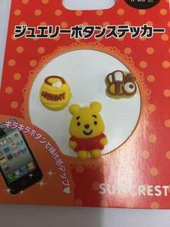 Winnie The Pooh Phone Sticker