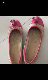 Nine West New Pink Flats
