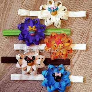 Baby girl headband - Bloom series