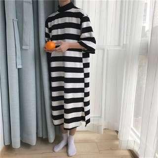 Kuma🐻 條紋百搭連衣裙