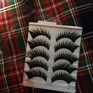 5 pcs False Eyelashes