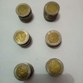 Uang logam 1000 rupiah harga nego