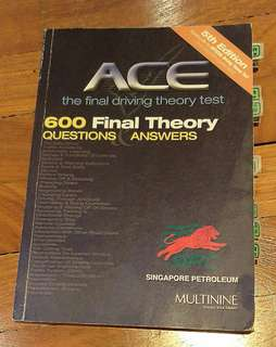 ACE The Final Driving Theory Test
