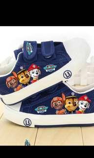 PO Paw Patrol Canvas Shoe Brand New Size 13.5-22.5cm