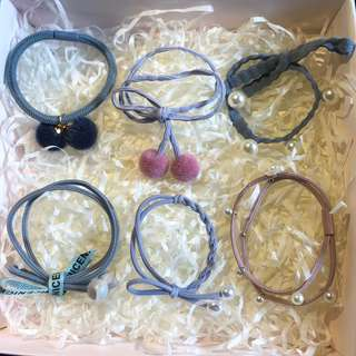 hair band (发圈), hair accessories. S$1 .2 each including free normal mail