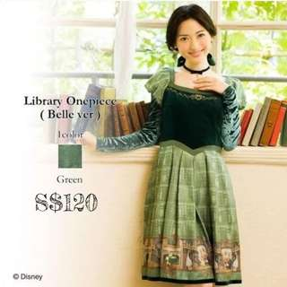 Disney's Belle Librarian Dress