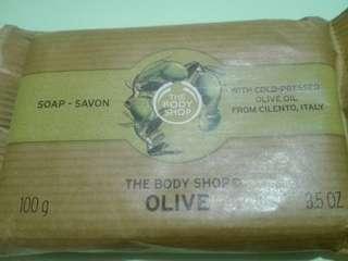 The body shop soap