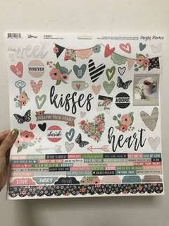 Scrapbook Art Design Stickers