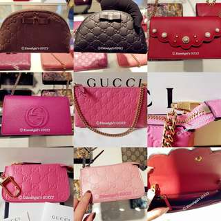 """🔴50%➡️ FOLLOWERS HAS ONLY! (Chat Nw!)🔴🎀30/4/2018 """"Exclusively Urs"""" BRAND NEW FLASH SALES🎀❤THANK U, total Posted 30+ Branded: Gucci + Furla +Ferregamo+ Kate Spade❤💋No Pet No Smoker CLEAN Hse💋"""