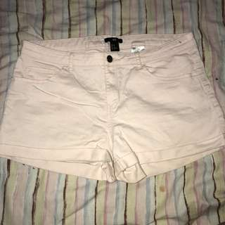 🌸H&M baby pink shorts
