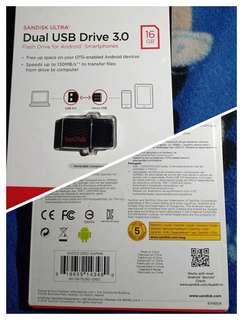 Dual USB drive 3.0
