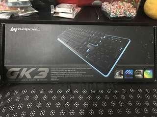 🚚 [B.FRIEND] GK3七色發光鍵盤