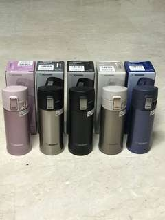 Imported model: Zojirushi Stainless Steel Mug 360ml (Full Inner And Outer Stainless Steel); 6.5cm by 6.5cm by 18.5 cm; 210grams; 5 colours to select from