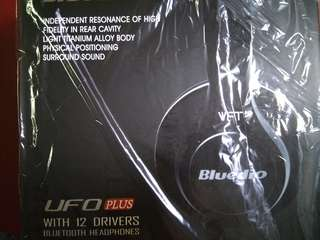 UFO Plus with 12 drivers Bluetooth Headphones