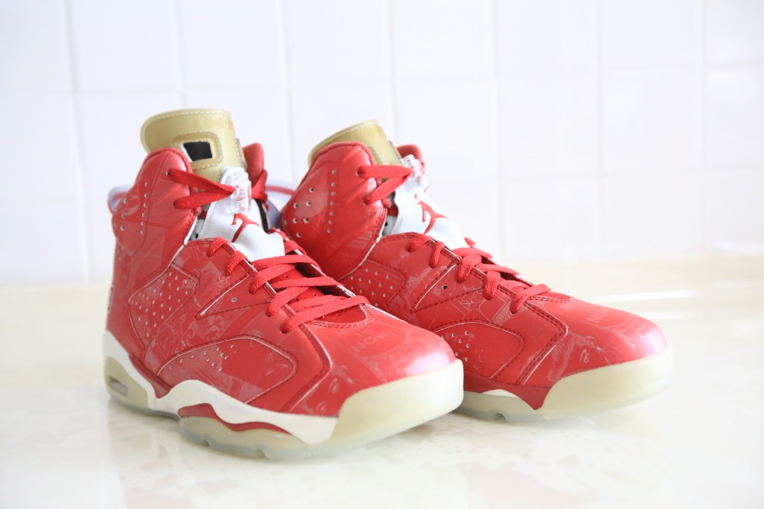 best website 1b0a9 e6f11 Air Jordan 6 Retro X Slam Dunk w  Box, Men s Fashion, Footwear on ...