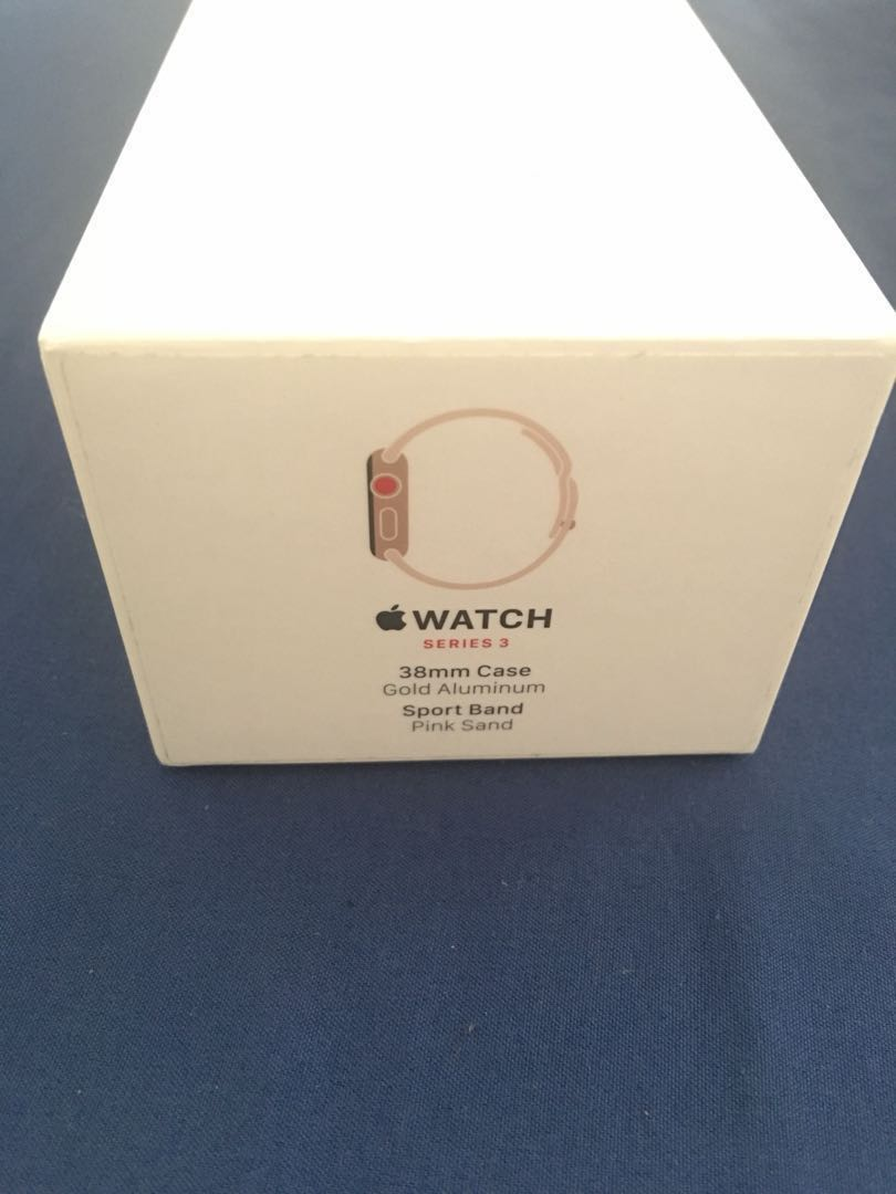 Apple Watch Series 3 Gps Cellular 38mm On Carousell