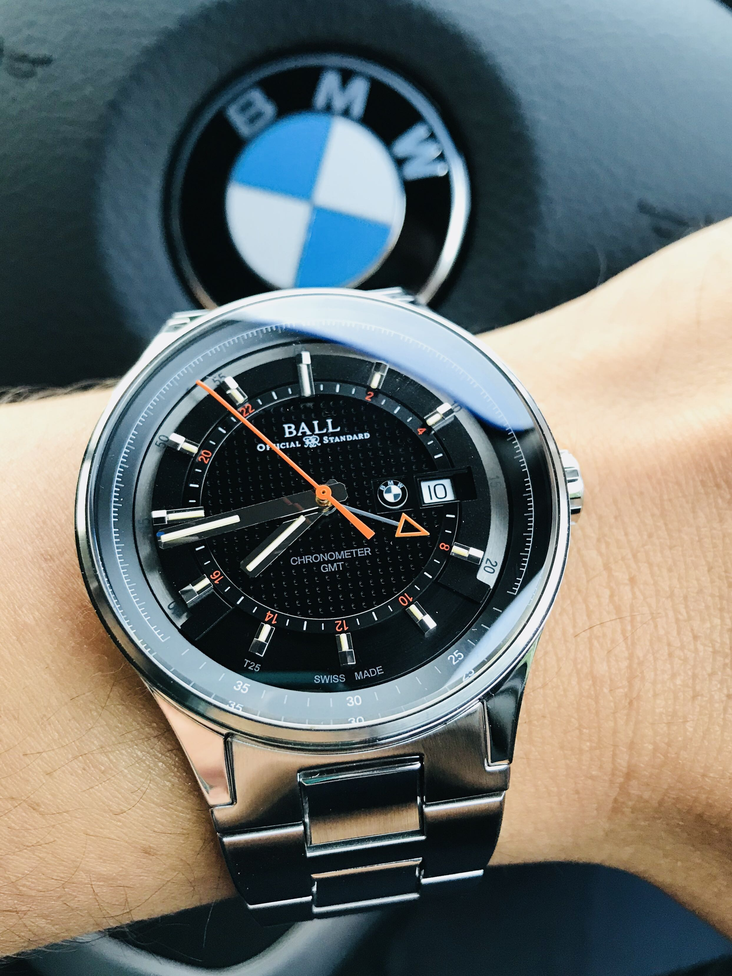diver saj bkgr luxury bmw watch on master engineer carousell watches p ii ball