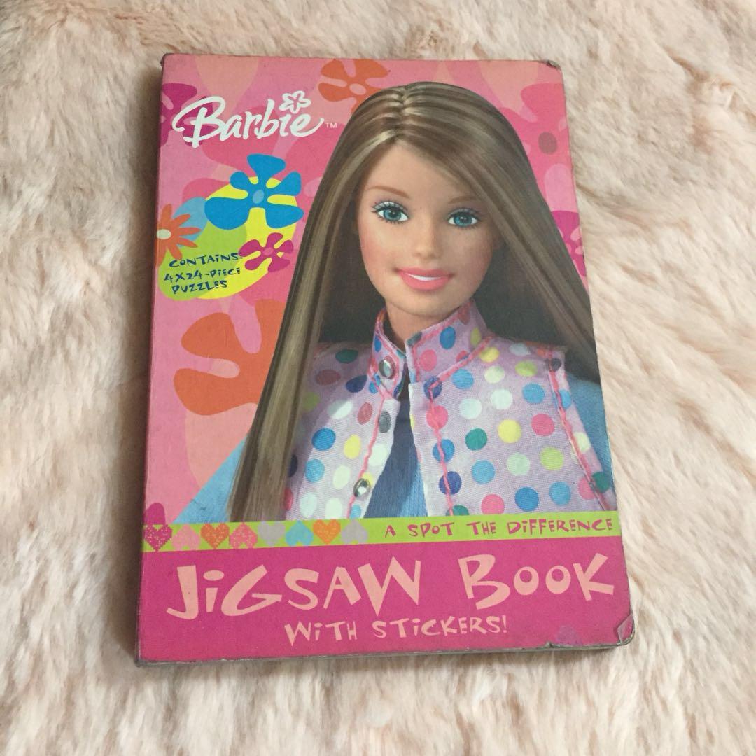 Barbie jigsaw book