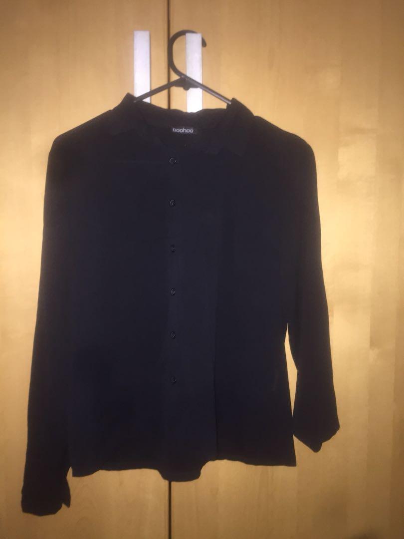 Black blouse 8