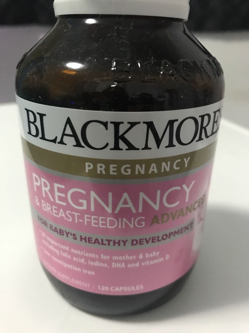 Blackmores Pregnancy Breast Feeding Advanced Health Beauty Gold Bath Body On Carousell