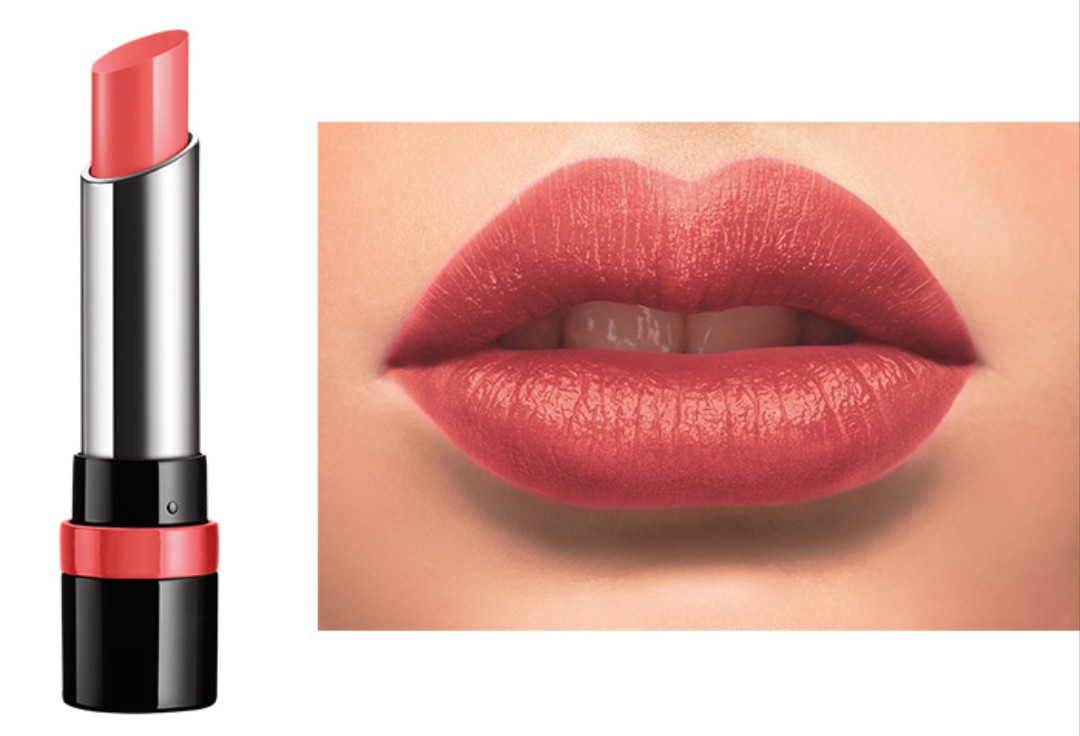 Brand New Rimmel Only One 1 Lipstick 600 Peachy Beachy Health Trio Beauty Makeup On Carousell
