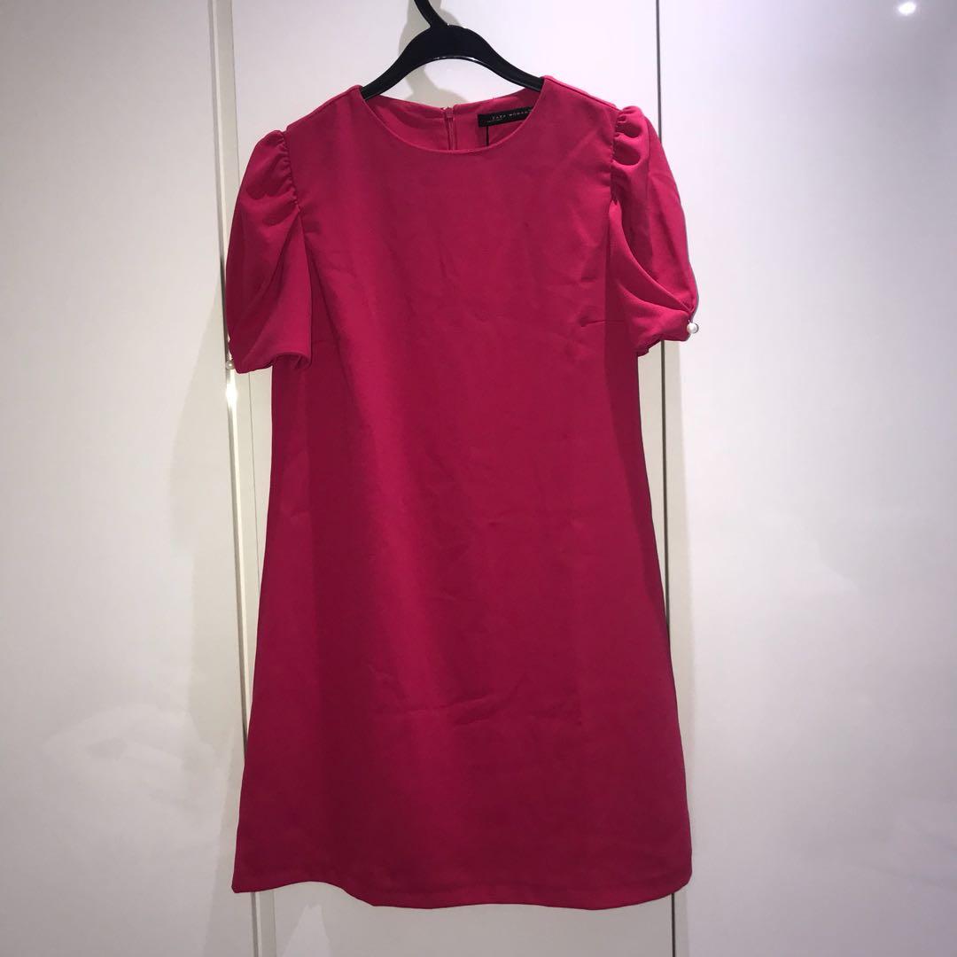 8e432d00e7 BRAND NEW ZARA PINK DRESS