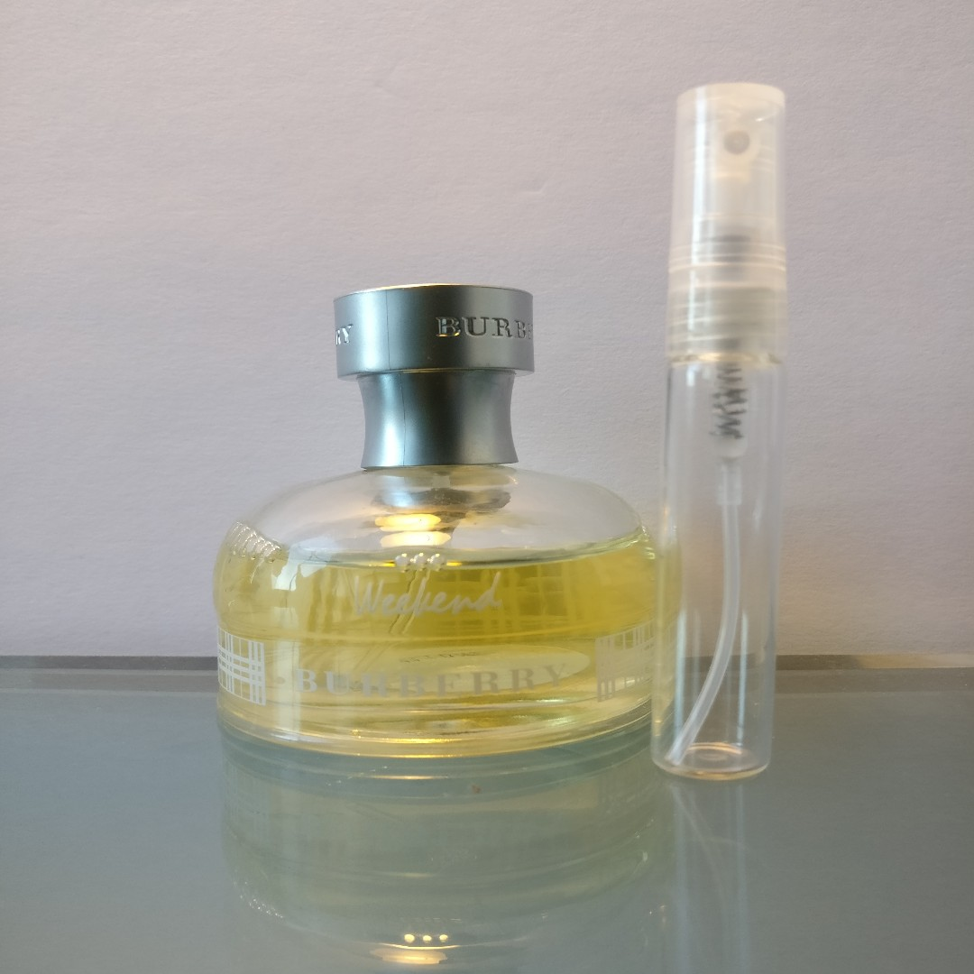Burberry Weekend 5mL EDP Sample Travel Spray Atomizer or Roll-On Rollerball Vial