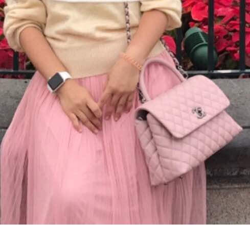 a3f7878e951b15 Chanel Coco Handle Sakura Pink, Luxury, Bags & Wallets on Carousell