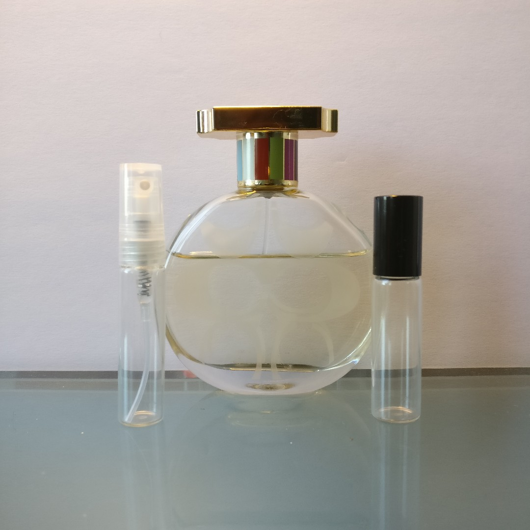 COACH Legacy 5mL EDP Travel Sample Spray Atomizer or Roll-On Rollerball Vial